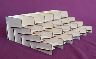 18 Deck Card Tray Flat Pack