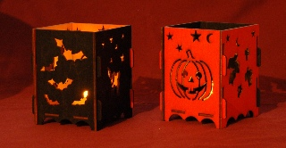 Battery Tea Light Lanterns (Luminaries)