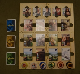 Splendor Board with tiles