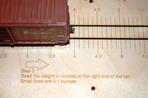 HO Scale Rolling Stock Weight Rule