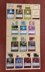 Quarriors Accessory Game Board