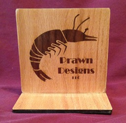 Prawn Designs Inlay Sign