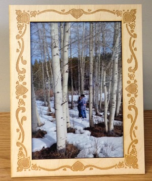 Custom Wedding Frame