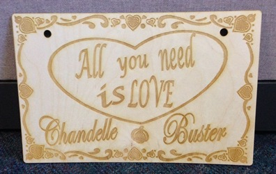 Custom Wedding Sign 2