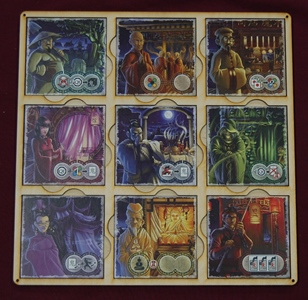 Ghost Stories Board with tiles